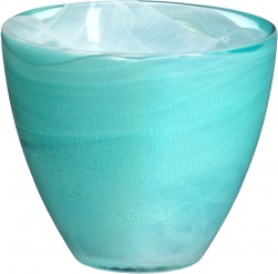 Candy tealightholder turquoise