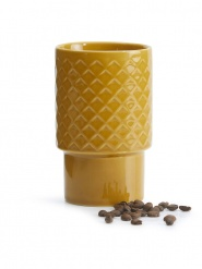 Other, Dining, Tea and CoffeeCoffee & More Mug large yellow£9.50
