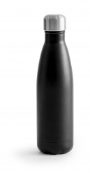 Steel bottle Hot & Cold black 500ml