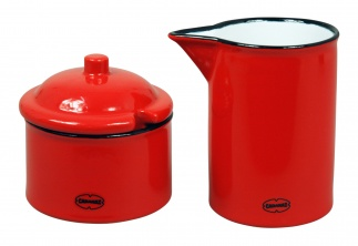Cabanaz SUGAR & MILK SET Scarlet red