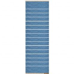 Theo Rug Light Blue 80x250