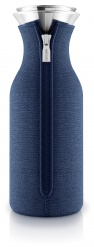 Fridge carafe 1,0l Navy blue woven