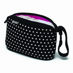 Go-Go: Diaper Clutch Mini Dot Black & White Xxx