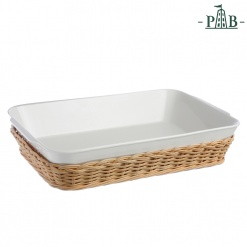 WICKER FOR LAS.BAK.DISH CM35X25XH7,5(#)