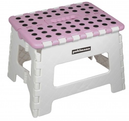 JAMES foldable stool Pink