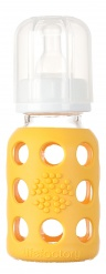 Lifefactory 4oz Baby Bottle - Yellow