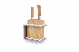 Fakir Bamboo knives holder - taupe