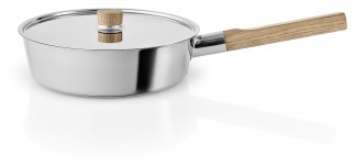 Saute pan Ø24cm w.lid Nordic kitchen Stainless Steel