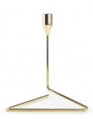 """Puzzle"" Candleholder Medium Gold"