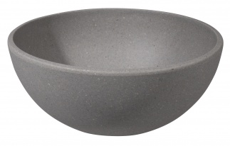 BIG BOWL Stone grey