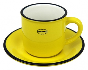 ESPRESSO CUP/SAUCER YE