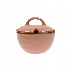 Dining, Tea and CoffeeCONCERTO (Pink) ROSA ANTICO Sugar Bowl with lid Cap. 250 cc; Ø 11 cm£8.90