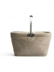 Nautic cooler basket linen