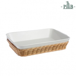 WICKER FOR LAS.BAK.DISH CM30X22XH7,5(#)