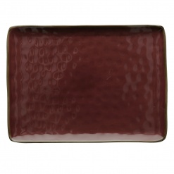 Dining, TablewareCONCERTO (Red) ROSSO MALAGA Rectangular Tray Ø 36 cm; W 26,5 cm£26.00