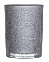 Winter scent candle fruit, grey