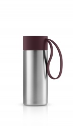 To Go Cup 0.5l Dark burgundy