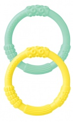 Silcone Teethers - 2 pack - Mint/Banana