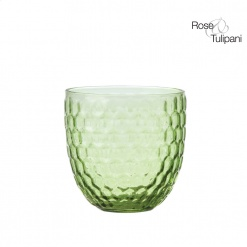 OPERA LIGHT GREEN WATER GLASS