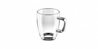 Glass Mug 400 Ml Crema