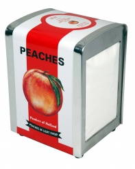 Cabanaz TISSUE DISPENSER PEACH