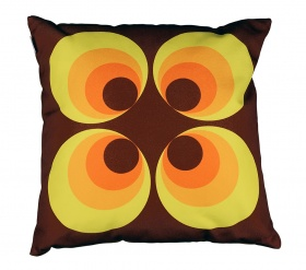 CUSHION RAMONA Yellow