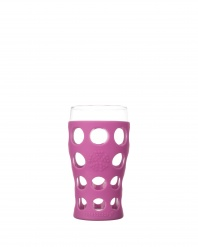 Lifefactory 20oz Beverage Glass - Open Stock - Huckleberry