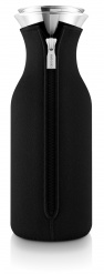 Fridge carafe 1,0 l, Black woven