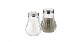 Salt & Pepper Set Round Classic
