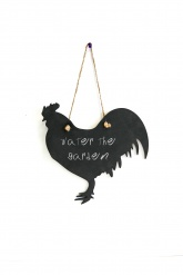 Slate Wall Notes - Rooster