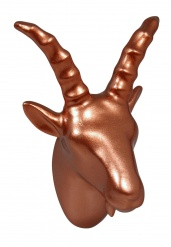 BILLY GOAT wall hook COPPER (SHINY)