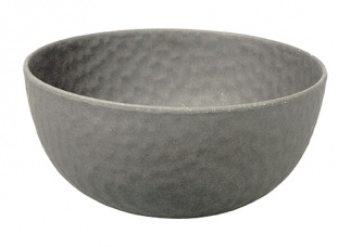 Medium Bowl HAMMERED Stone Grey