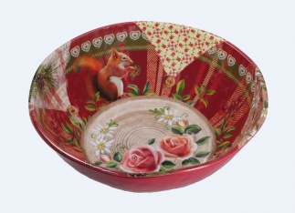 ALPINE LIFE Salad Bowl Ø 36 cm; H 11,5 cm in Gift Box
