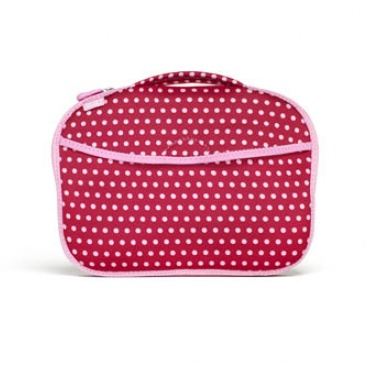 Diaper Buddy: Changing Pad Baby Pink Mini Dots