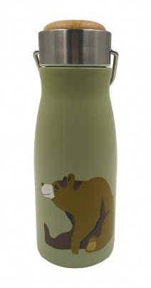 FLASK Brown Bear