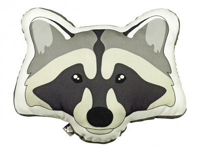 CUSHION Raccoon
