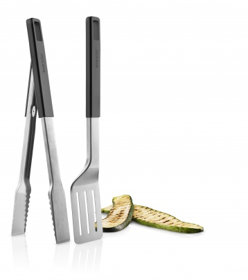 Grill set whit tongs and spatula