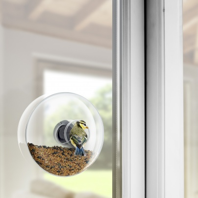 Window bird feeder large