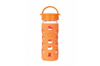 Lifefactory 12 oz / 350ml Classic Cap Bottle - Orange
