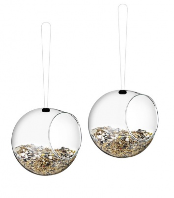 Mini bird feeders 2 pcs