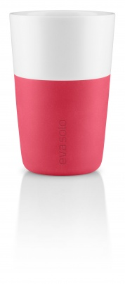 Caffe latter tumbler flash pink - set of 2