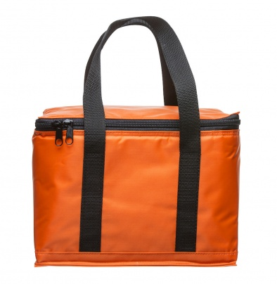 Holiday cooler bag small orange