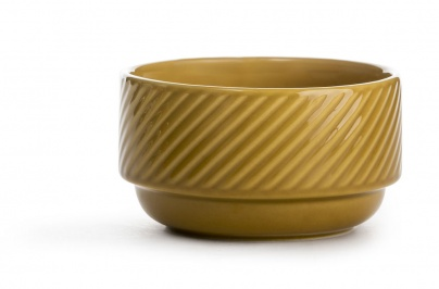 Coffee & More Bowl yellow