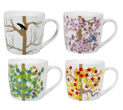 4 Seasons Mugs Set/4