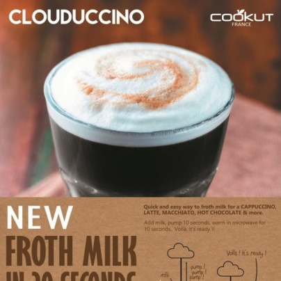 Clouduccino  - Eco-friendly Milk frother
