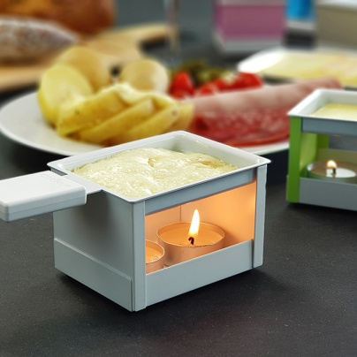 YETI - Grey individual raclette with candle