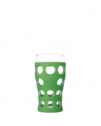 Lifefactory 20oz Beverage Glass - Open Stock - Grass Green