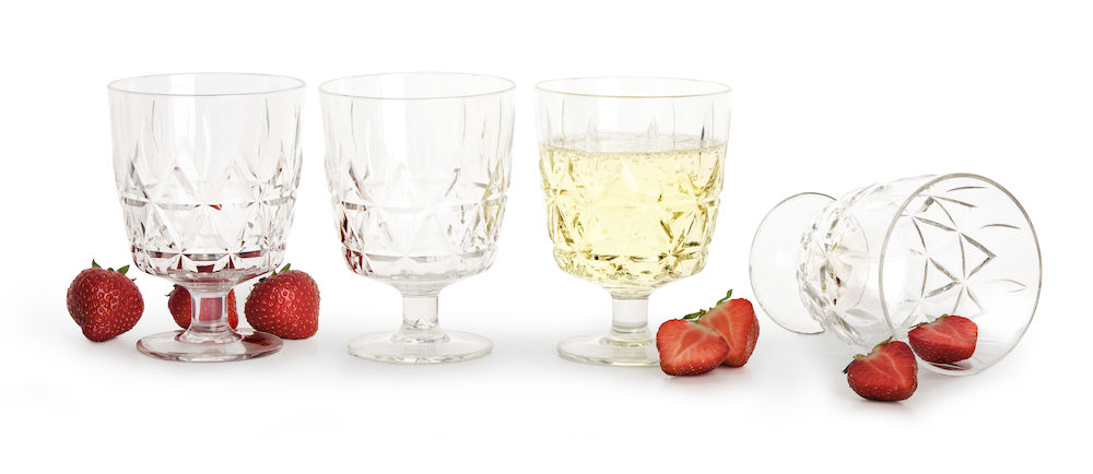 Picnic glass 4-pack