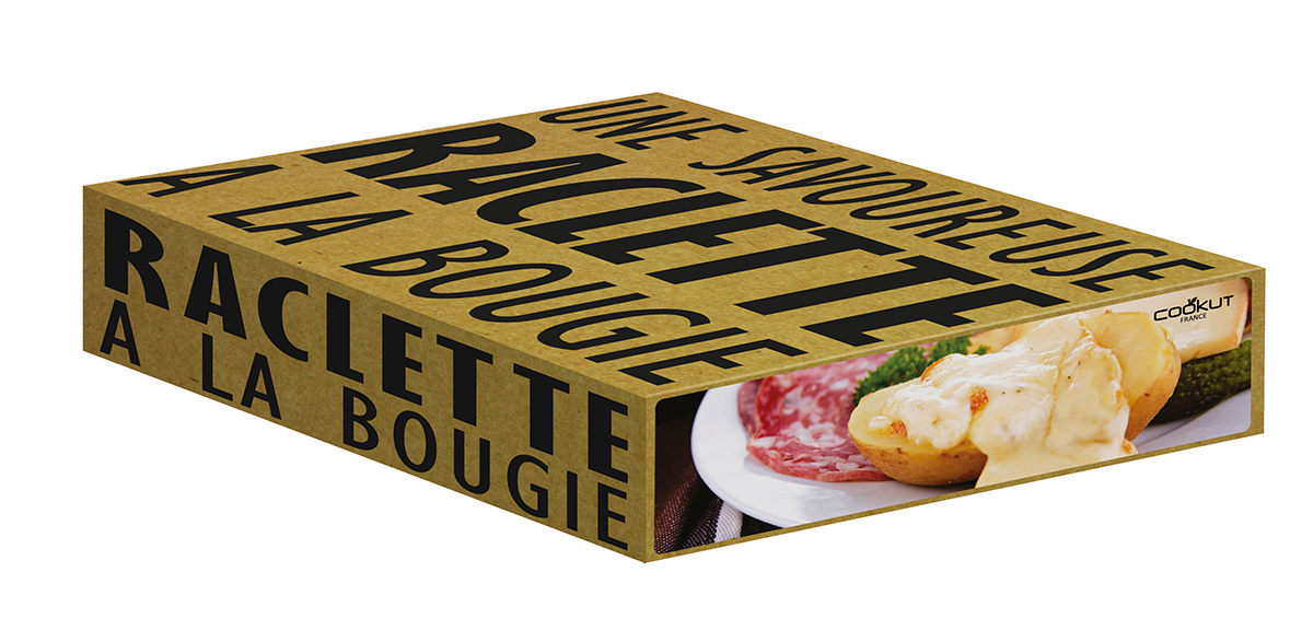 LUMI - Raclette cheese individual set for 4