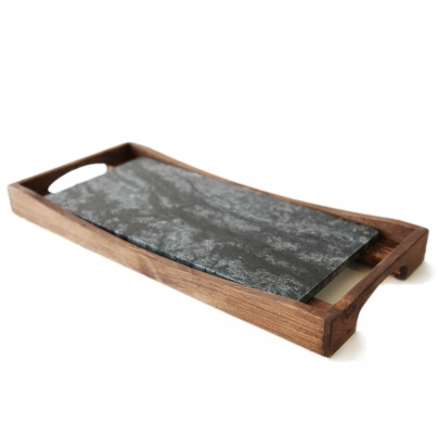 Oven-to-Table Platter & Carrier (16x8)